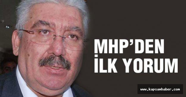 MHP'den kurultay kararı için ilk yorum geldi