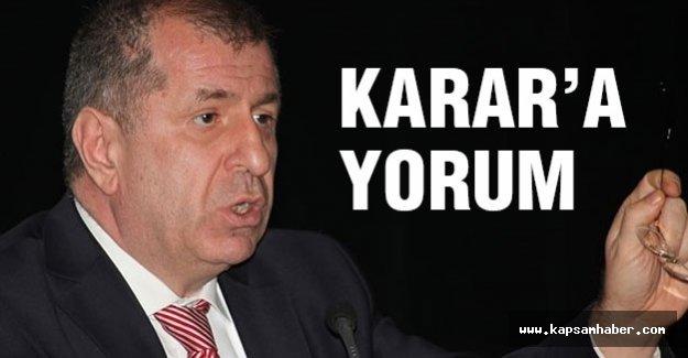 MHP'li Özdağ'dan 'karar' yorumu