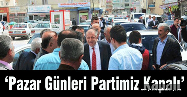 MHP'li Özdağ Kırşehir'de Partiye Giremedi
