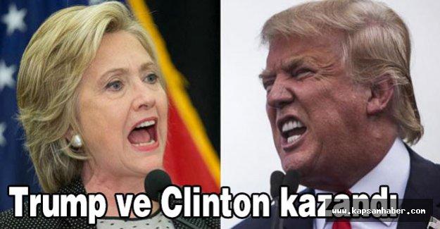 New York ön seçimlerini Trump ve Clinton kazandı