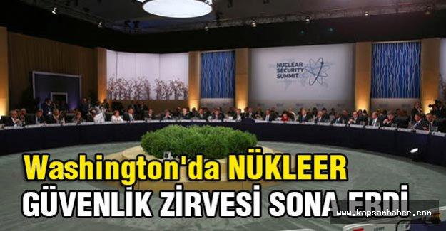 Nükleer Güvenlik Zirvesi sona erdi