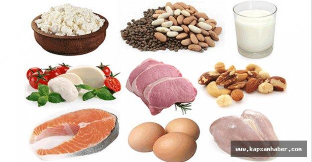 Proteinin azı karar, çoğu...