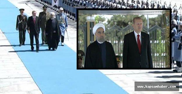 Ruhani, Ankara'da resmi törenle karşılandı