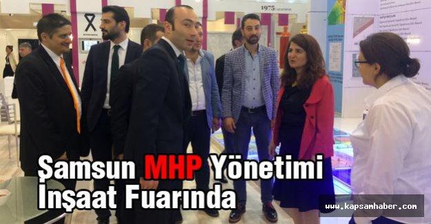 Samsun MHP Yönetimi İnşaat Fuarında