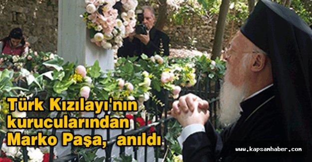 Türk Kızılayı'nın kurucularından Marko Paşa anıldı
