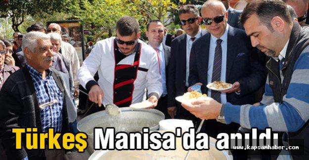 Türkeş, Manisa'da anıldı...