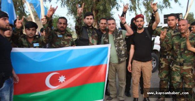 Türkmen 'akıncılar' Karabağ'da çarpışmak istiyor
