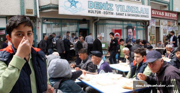 Yazıcıoğlu için 500 kişilik sofra