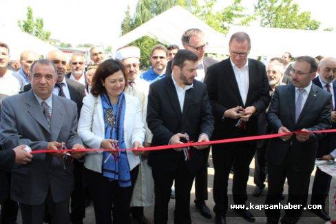 Almanya'da Meryem Ana Camii açıldı