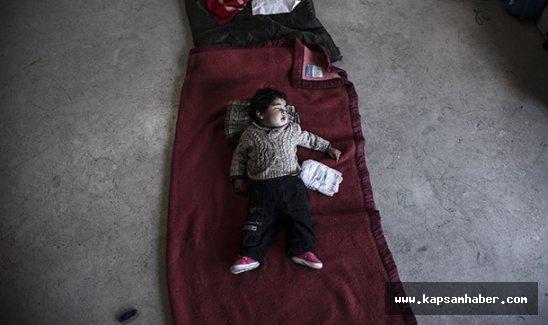 'Çocuk mültecileri kurtarın' çağrısı