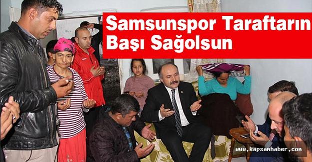 Erhan Usta'dan Samsunspor Taraftarlarına Başsağlığı