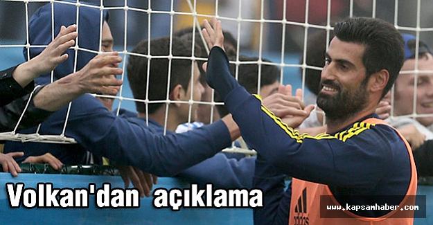 Fenerbahçe Kaptanı Volkan'dan Soma Açıklaması