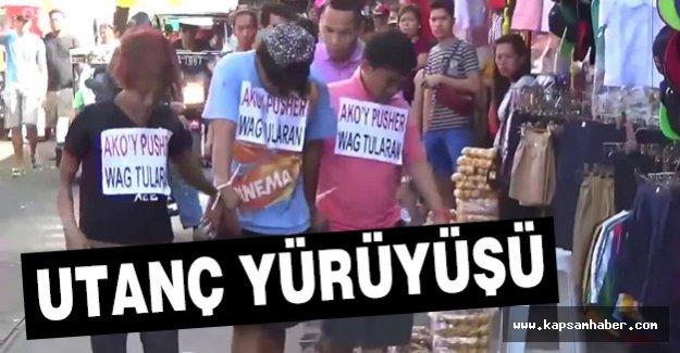 Filipinler'de 'utanç yürüyüşü'