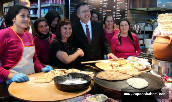 Havalimanında 'Tadında Anadolu' yemekleri
