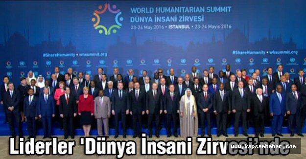 Liderler 'Dünya İnsani Zirvesi'nde