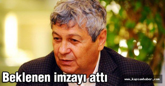 Lucescu beklenen imzayı attı