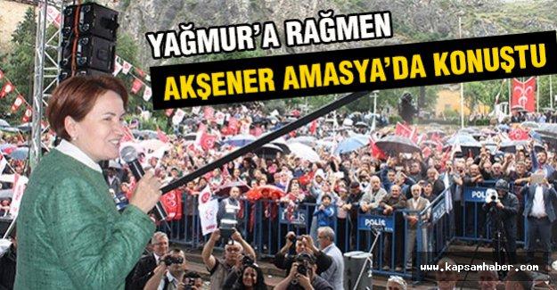 Meral Akşener Amasya'da Konuştu