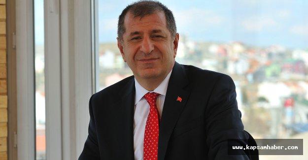 MHP'li Ümit Özdağ Samsun'da