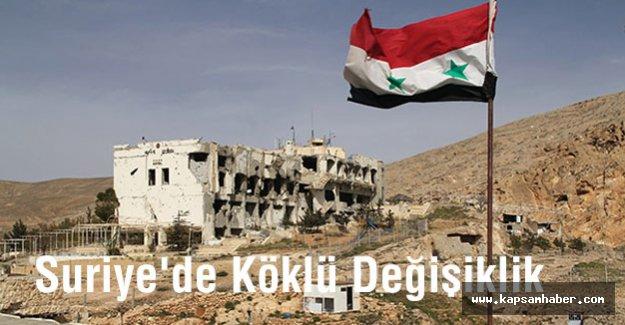 Suriye'de Köklü Değişim...