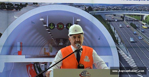 'Avrasya tünelini Aralık'ta açacağız'