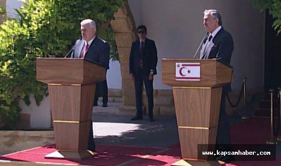 Başbakan Yıldırım, Akıncı ile görüştü
