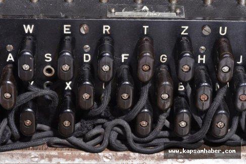 Efsanevi şifre makinası Enigma, İstanbul'da