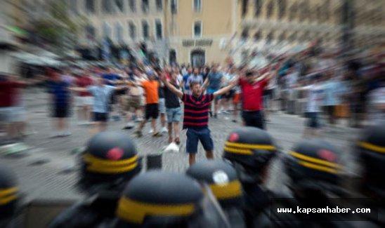 EURO2016 Fransa'da olaylar durmuyor, Lille'de 36 gözaltı ve 16 yaralı