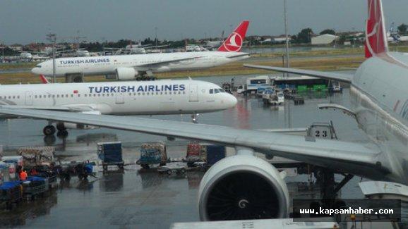 Hava ulaşımına 'yağmur' engeli