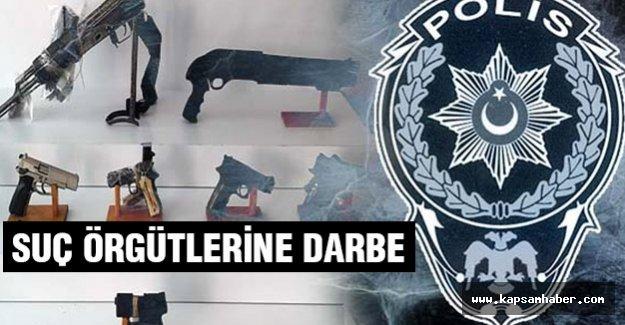İstanbul Emnuyeti'nden Suç Örgütlerine Darbe