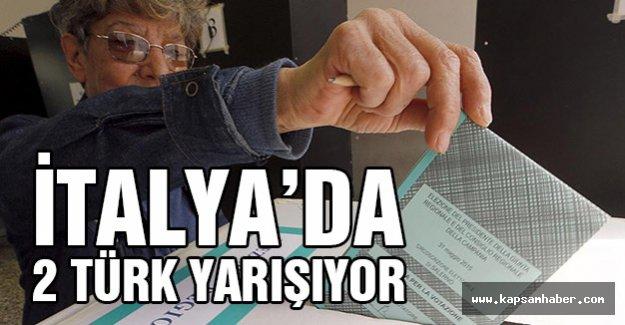 İtalya'da 2 Türk'ün Yarıştığı Kritik Seçim