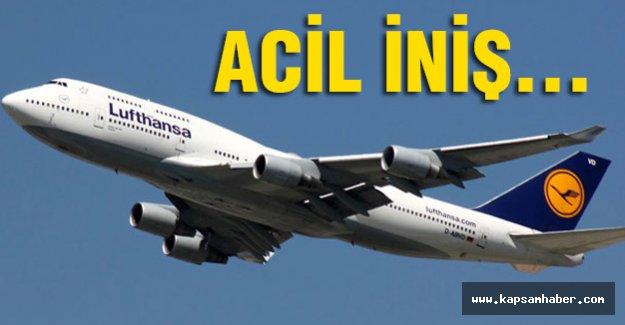 Münih-Mumbai seferini gerçekleştiren uçak acil indi
