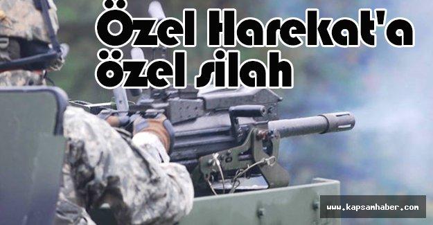Özel Harekat'a özel silah...