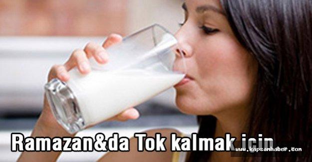 Ramazan'a Tok Kalmak İçin Bunu Yapın...