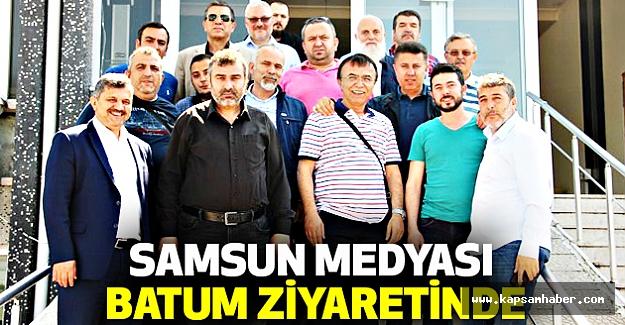 Samsun Medyası Batum Ziyaretinde