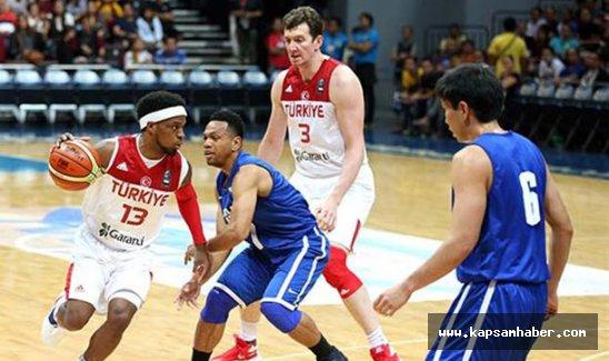 A Milli Erkek Basketbol Takımı son hazırlık maçını kazandı