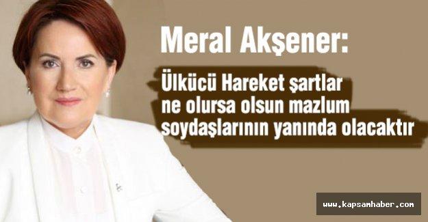 Akşener: Türkmenler Önceliklerimizdendir