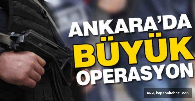 Ankara'da Emniyet Mensuplarına Operasyon!