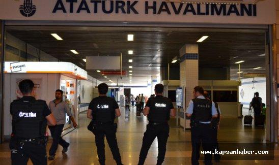 Atatürk Havalimanı'na 80 kişilik tim