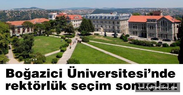 Boğaziçi Üniversitesi rektörlük seçimi sonuçlandı