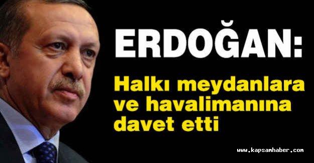 Cumhurbaşkanı Erdoğan'dan Açıklama