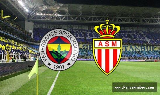 Fenerbahçe, Monaco'yu 2 - 1 yendi