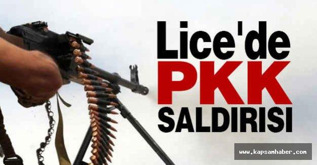 Lice'de PKK Saldırısı...
