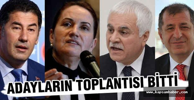 MHP Genel Başkan Adaylarının toplantısı bitti