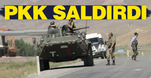PKK'lı Teröristler Saldırdı...