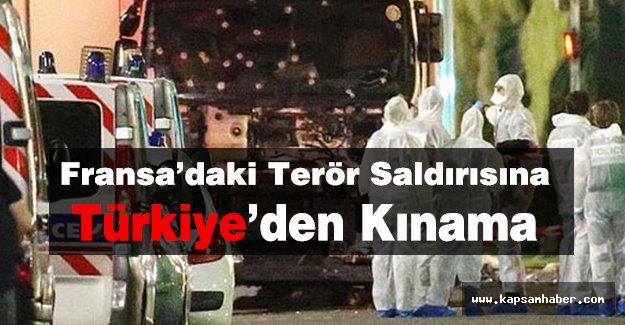 Türkiye, Terör Saldırısını Kınadı