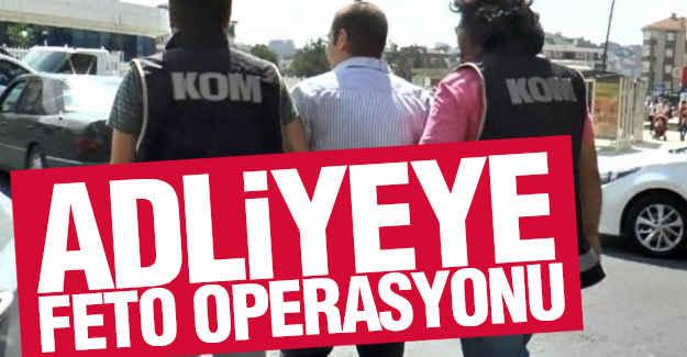Adliyeye 100 Polisle Operasyon