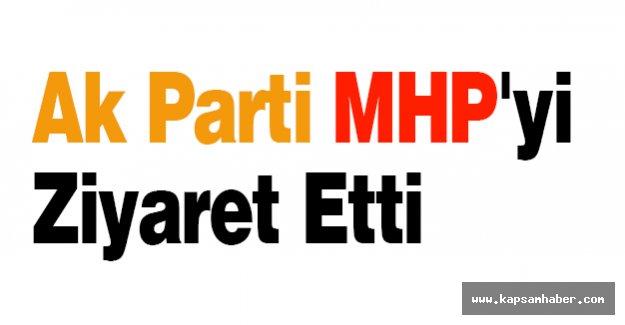 Ak Parti MHP'yi Ziyaret Etti