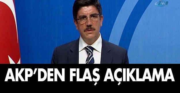 AKP'den 'revizyon' açıklaması