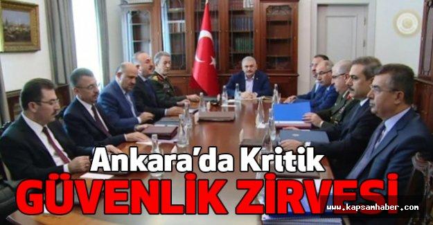 Ankara'da Kritik Güvenlik Zirvesi