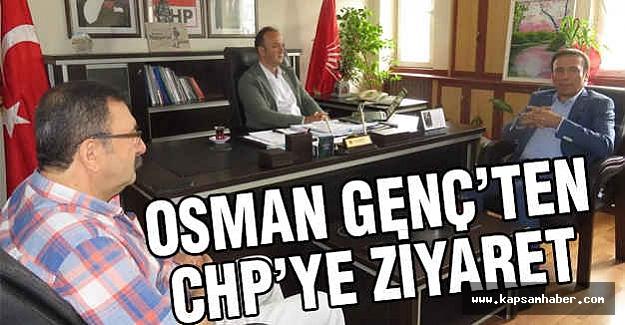 Başkan Osman Genç'ten CHP'ye Ziyaret